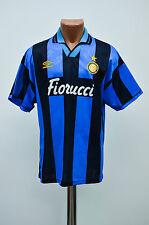 INTER MILAN INTERNAZIONALE 1993/1994 HOME FOOTBALL SHIRT JERSEY MAGLIA UMBRO