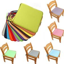 Square Thick Chair Seat Cushion Seat Pads with Tie On Garden Pillows UK*·