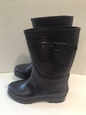 MICHAEL Michael Kors Womens Purple Rain Boots Shoes Size 8