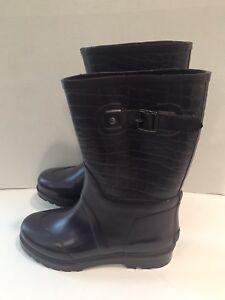 MICHAEL Michael Kors Womens Purple Rain Boots Shoes Size 8