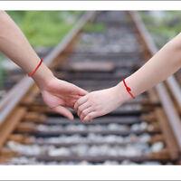 50x Cord String Kabbalah Lucky Bracelets Against Evils Eye For Success Red Black
