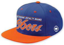 Dethrone 86ers Snapback Hat - Royal/Orange