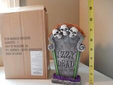 "Department 56 Halloween Izzy Dead Tombstone Headstone (8"" Tall) Eyes Light up!"