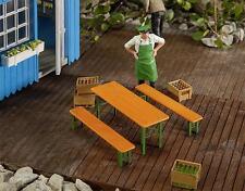 Pola G 333222 1 Table brasserie avec  2 Bancs Neuf