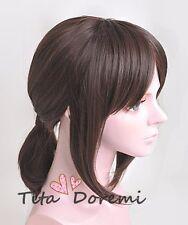 Attack on Titan/Shingeki no Kyojin Ymir brown fashion cosplay Anime /wig hair