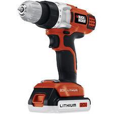 NEW Black and Decker LDX220SBFC 20-Volt MAX Li-Ion Drill/Driver Fast Charge