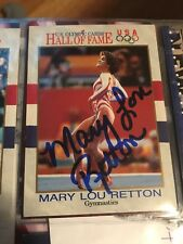 Mary Lou Retton Signed Olympic Card