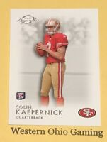 2011 Topps Legends Colin Kaepernick #162 Rookie RC Card