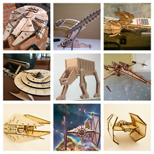 10 Star Wars vectors For laser cutting or CNC files in dxf, svg, png