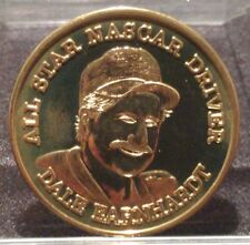 DALE EARNHARDT ALL STAR NASCAR DRIVER MEDAL COIN TOKEN RACING THE INTIMIDATOR #3