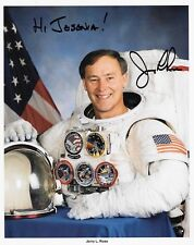 NASA SIGNED AUTOGRAPH JERRY L ROSS WITH CERTIFICATE 10X8
