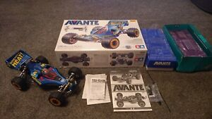 Tamiya Avante 2011 58489) new with all electrics and put away for 8 years