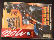 ** Moto Légende n°83 Poster Honda CB 350 K4 / Triumph Tristar