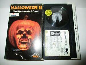Halloween II - Betamax Beta Tape Horror