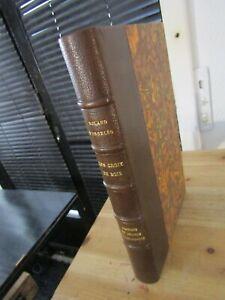 GUERRE 14-DORGELÈS-LES CROIX DE BOIS-Relié-1923-ILLUSTRÉ par GORVEL- EX n°VÉLIN
