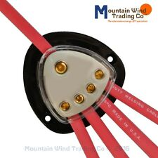 One to Four Dc Cable Distribution Block for Wind Turbines & Solar Panels