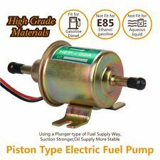 Universal Electric Gas Diesel Fuel Pump Inline Low Pressure 12V Carburetor FP-02