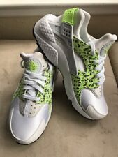 Women's Nike Air Huarache Run WHITE 683818-101 Sz 8 NEW