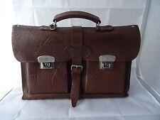 Vintage shabby chic - Ältere Ledertasche Aktentasche echt Leder Tasche Sudhaus