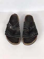Birkenstock Women's 39 Size Black Slides - Acceptable Condition