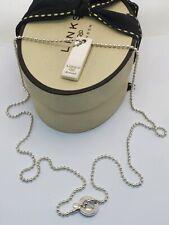 Links of London silver INGOT pendant necklace dog tag ball Annoushka vintage