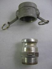"PT Coupling 20F 2"" Male Cam Grove with 2"" Male NPT (tapered) and 20V Dust Cap"