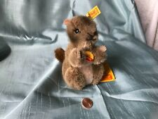 Steiff Piff Woodchuck 1476/12 vintage 1986-89 all tags, free 📦shipping