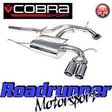 """Vw12 Cobra Sport Scirocco 1.4 TSI inoxidable del sistema de escape 2.5 """"de Cat posterior no res"""
