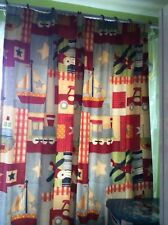 Sanderson Pair Boy Lined Cotton Curtains 150x135cm