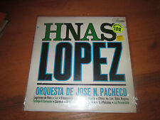 Hermanos Lopez Jose N. Pacheco Mexican Music LP Record Paloma 1001