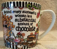 Suzy Toronto Coffee Mug Behind Every Successful Woman is Chocolate