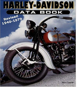 Harley-Davidson Motorcycle Data Book Revised 1940-1979  ~482 pgs~ NEW!