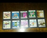 Lot of (11) Nintendo DS Games loose