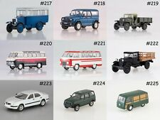 1:43 Autolegends USSR and Socialist States #217-324 DeAgostini