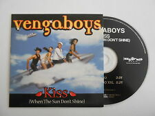 VENGABOYS : KISS ( WHEN THE SUN DON'T SHINE ) [ CD SINGLE ] ~ PORT GRATUIT
