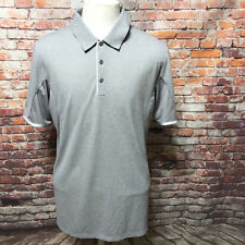 ADIDAS MEN'S CLIMA CHILL POLYESTER PERFORMANCE POLO SHIRT SIZE L  A34-20