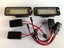 2x Error Free LED License Plate Light For VW Golf 7 Mk7 tsi tdi gti 2012-2014