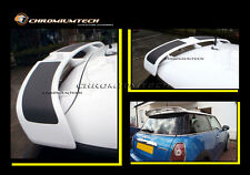 BMW MINI Cooper S R56 Rear Spoiler ready to be painted new from Chromiumtech