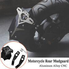 CNC Motorcycle Rear Fender Styling Mud Dust Wheel Splash Guard Extender Aluminum