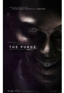 The Purge [New DVD] Slipsleeve Packaging, Snap Case