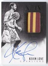 Kevin Love 2014-15 Panini Noir Auto Patch /25 Cavs Signed On Card Cavaliers Rare