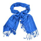 Women Wool Blend Long Warm Scarves Soft Wrap Scarf Tassels Shawl Winter Warm FL