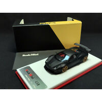 ScaleMini 1:64 Scale Ferrari 458 GT Wing LB Edition Matte Black Car Model NEW