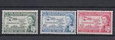 St. Christopher Nevis Anguilla 1958 federazione Indie occidentali 150-52 mnh