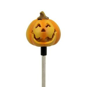 Solar Powered Round Pumpkin Yard Garden Stake Color Changing LED Light