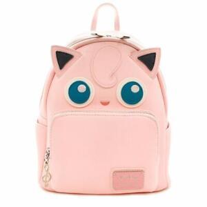 Loungefly x Pokemon Jigglypuff Cosplay Faux Leather Mini Backpack