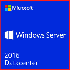 Windows Server 2016 Data Center 16 Core 2 CPU | 50 User Cal's initial License
