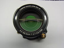 CANON POWERSHOT SX30 lens zoom unit assembly without CCD