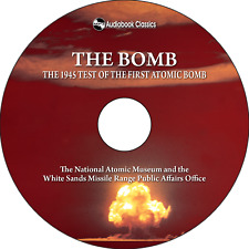 The Bomb - Unabridged MP3 CD Audiobook in paper sleeve
