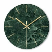 Marble Wall Clocks Nordic Modern Living Room Kitchen Office Bedroom Watch Decors